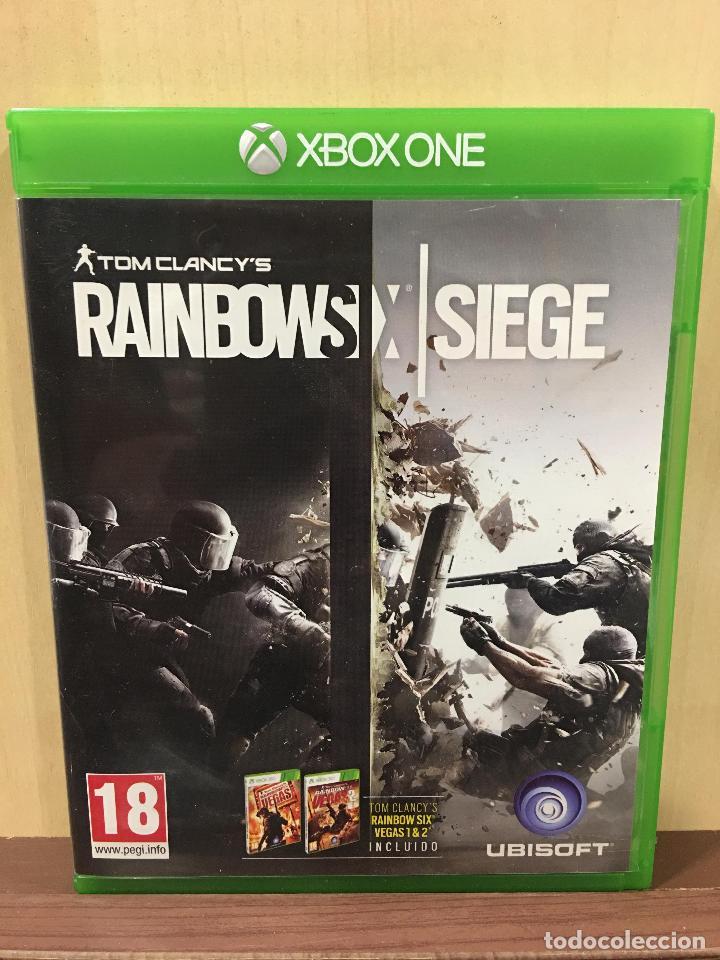 RAINBOW SIX SIEGE - XBOX ONE (2ª MANO - BUENO) (Juguetes - Videojuegos y Consolas - Xbox One)