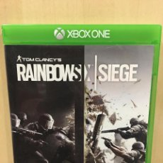 Xbox One: RAINBOW SIX SIEGE - XBOX ONE (2ª MANO - BUENO). Lote 288427968