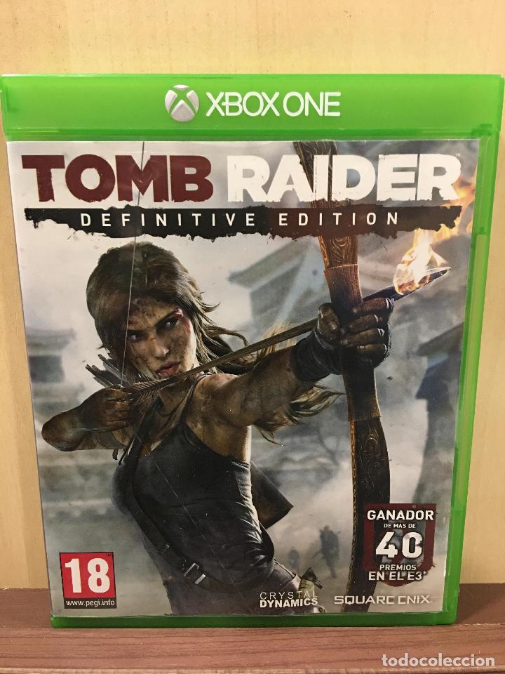 TOMB RAIDER DEFINITIVE EDITION - XBOX ONE (2ª MANO - BUENO) (Juguetes - Videojuegos y Consolas - Xbox One)