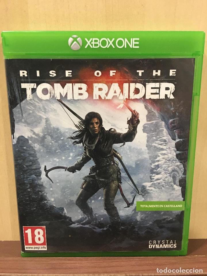 RISE OF THE TOMB RAIDER - XBOX ONE (2ª MANO - BUENO) (Juguetes - Videojuegos y Consolas - Xbox One)