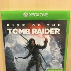 Xbox One: RISE OF THE TOMB RAIDER - XBOX ONE (2ª MANO - BUENO). Lote 288427983