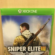 Xbox One: SNIPER ELITE 3 - XBOX ONE (2ª MANO - BUENO). Lote 288427988