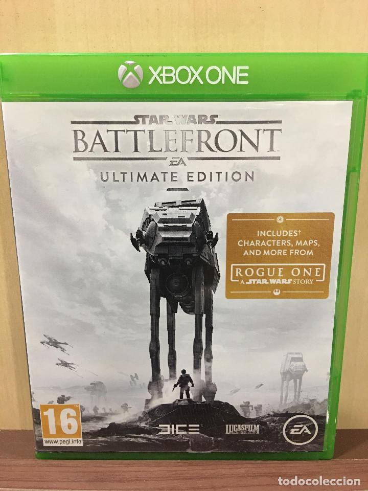 STAR WARS BATTLEFRONT - XBOX ONE (2ª MANO - BUENO) (Juguetes - Videojuegos y Consolas - Xbox One)