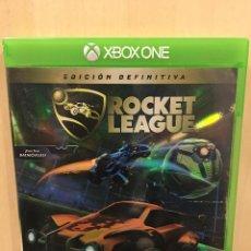 Xbox One: ROCKET LEAGUE DEFINITIVE EDITION - XBOX ONE (2ª MANO - BUENO). Lote 288428008