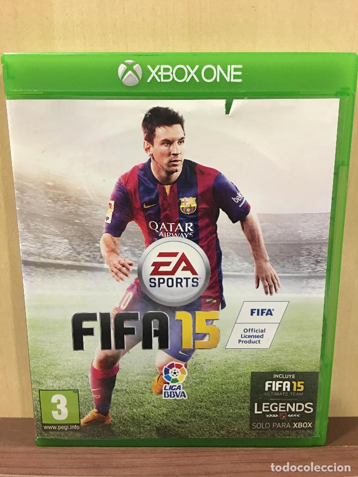 FIFA 15 - XBOX ONE (2ª MANO - BUENO) (Juguetes - Videojuegos y Consolas - Xbox One)