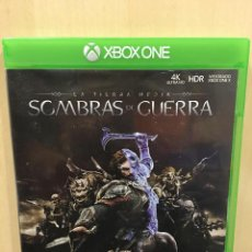 Xbox One: LA TIERRA MEDIA - SOMBRAS DE GUERRA - XBOX ONE (2ª MANO - BUENO). Lote 288428048