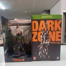 """Xbox One: MUÑECO PVC XBOX DARK ZONE """"TOM CLANCY'S DIVISIÓN"""" CON CAJA ORIGINAL, POSTER, LIBRO DE LITOS & CD BSO. Lote 290192073"""