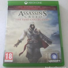 Xbox One: ASSASSIN´S CREED: THE EZIO COLLECTION VIDEO-JUEGO XBOX ONE HERMANDAD,REVELATIONS. Lote 292172123
