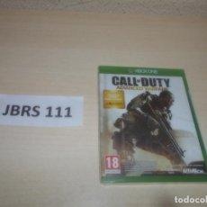Xbox One: XBOX ONE - CALL O DUTY ADVANCED WARFARE , PAL ESPAÑOL , PRECINTADO. Lote 293997863