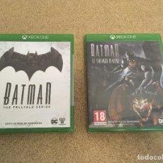 Xbox One: BATMAN PARA XBOX ONE X (DOS JUEGOS, EN CASTELLANO) NUEVO, PRECINTADO. Lote 294093528