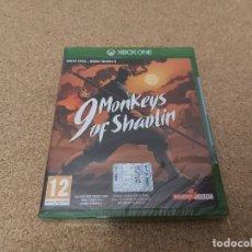Xbox One: 9 MONKEYS OF SHAOLIN, PRECINTADO. Lote 294125393